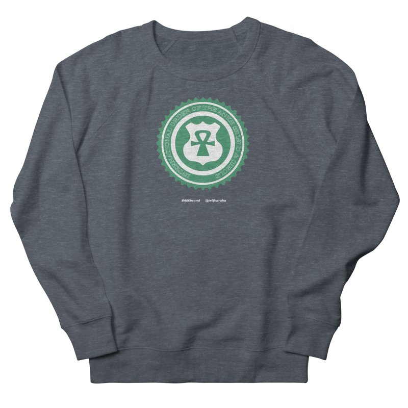 ASC Dollar Seal Men's French Terry Sweatshirt by Ankh, Shield & Circle