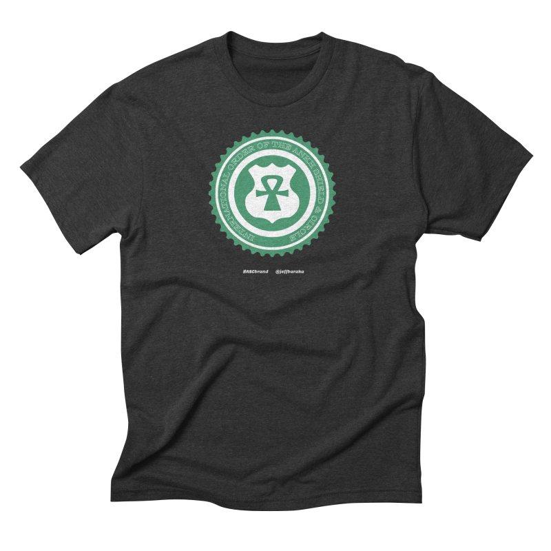 ASC Dollar Seal Men's Triblend T-Shirt by Ankh, Shield & Circle