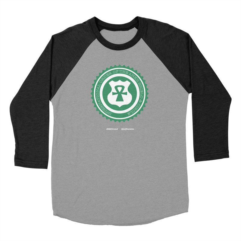ASC Dollar Seal Women's Baseball Triblend Longsleeve T-Shirt by Ankh, Shield & Circle