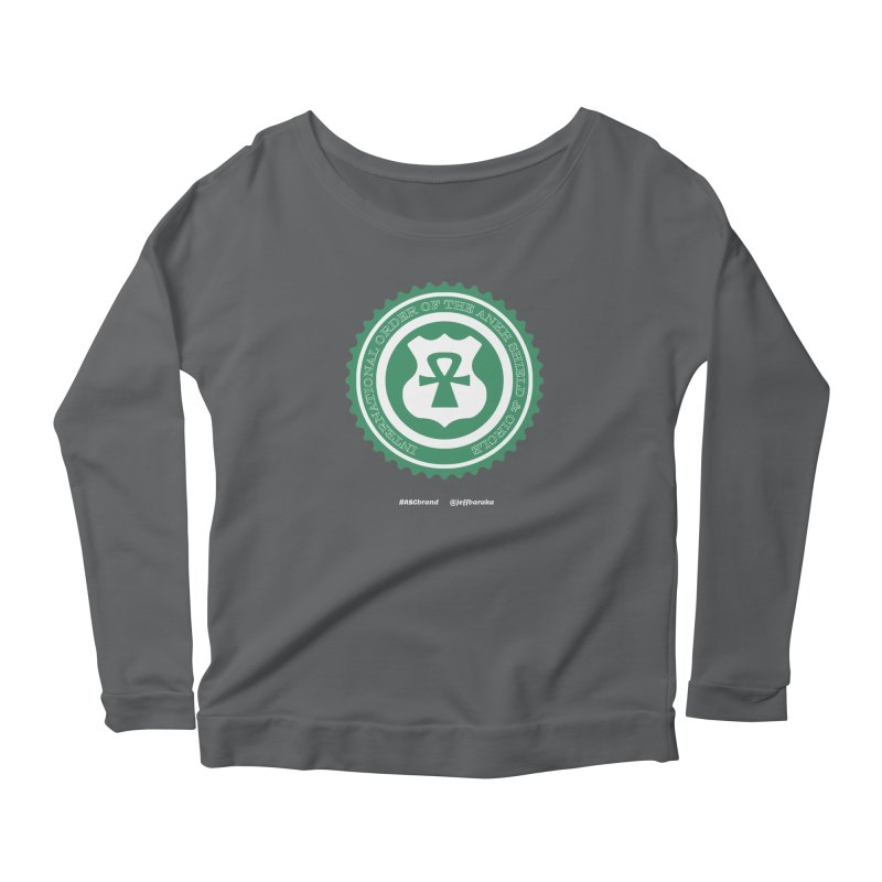 ASC Dollar Seal Women's Scoop Neck Longsleeve T-Shirt by Ankh, Shield & Circle