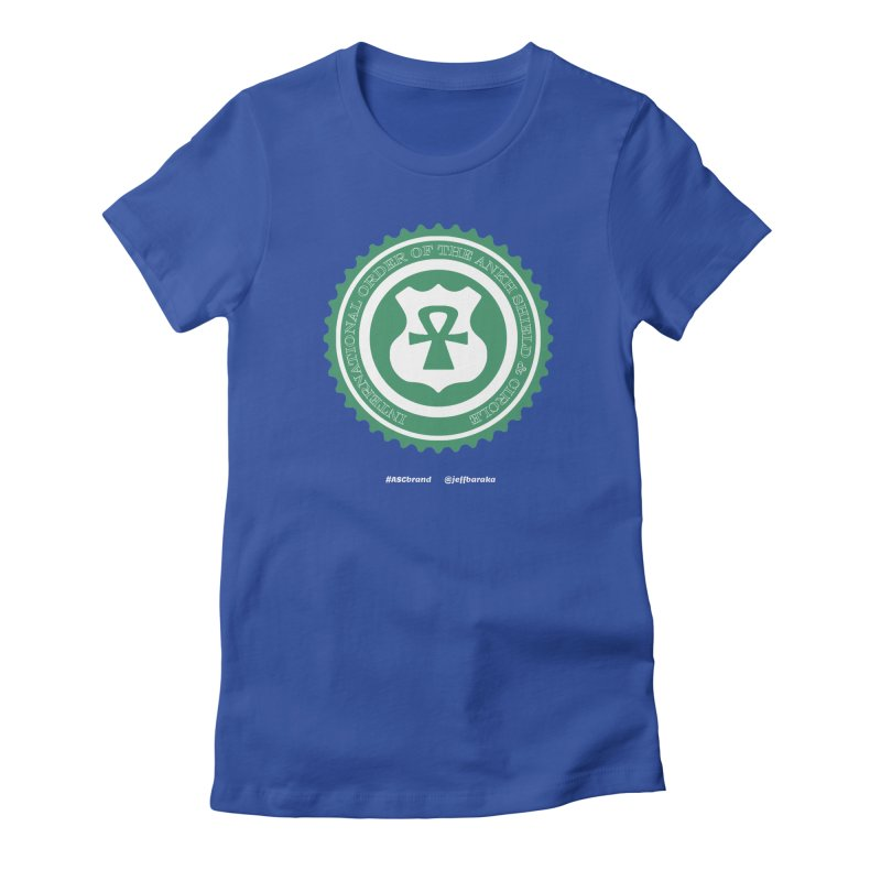 ASC Dollar Seal Women's Fitted T-Shirt by Ankh, Shield & Circle