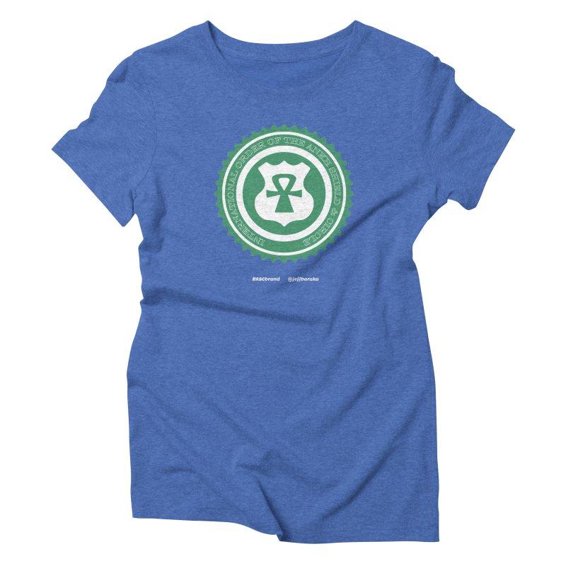 ASC Dollar Seal Women's Triblend T-Shirt by Ankh, Shield & Circle