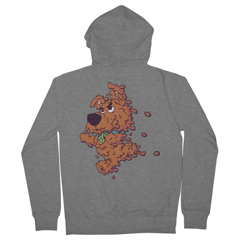 Drippy-Doo Women's French Terry Zip-Up Hoody by jeffboarts's Artist Shop