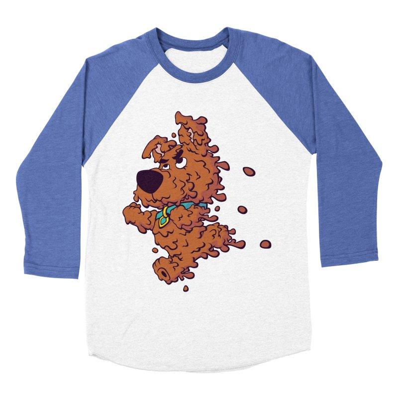 Drippy-Doo Men's Baseball Triblend Longsleeve T-Shirt by jeffboarts's Artist Shop