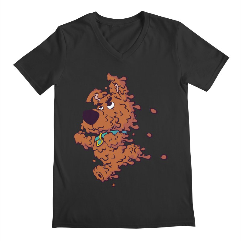 Drippy-Doo Men's Regular V-Neck by jeffboarts's Artist Shop
