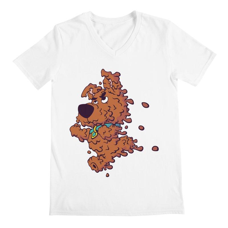 Drippy-Doo Men's V-Neck by jeffboarts's Artist Shop