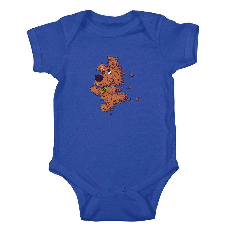 Drippy-Doo Kids Baby Bodysuit by jeffboarts's Artist Shop