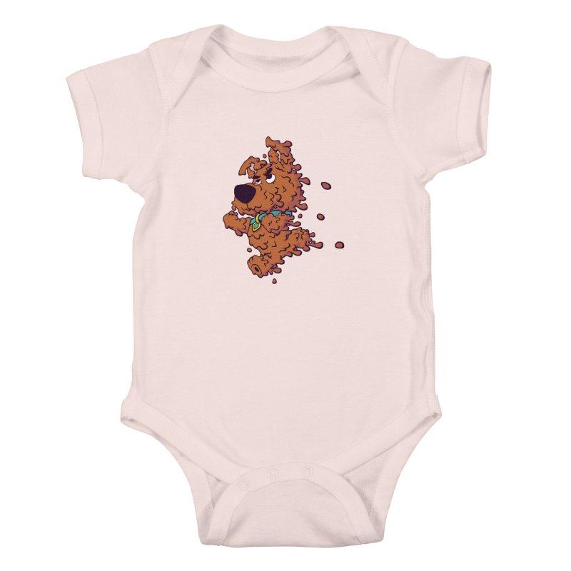 Drippy-Doo Kids Baby Bodysuit by jeffboarts's Artist Shop