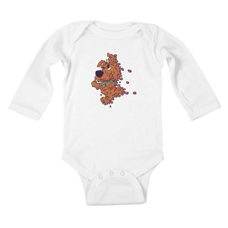 Drippy-Doo Kids Baby Longsleeve Bodysuit by jeffboarts's Artist Shop