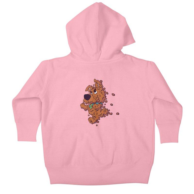 Drippy-Doo Kids Baby Zip-Up Hoody by jeffboarts's Artist Shop
