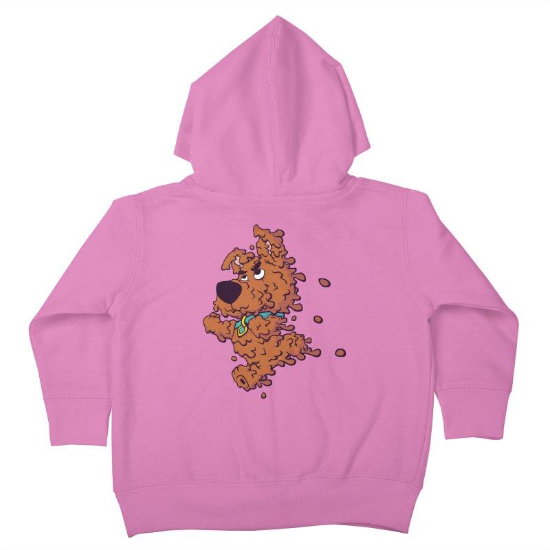 Drippy-Doo Kids Toddler Zip-Up Hoody by jeffboarts's Artist Shop
