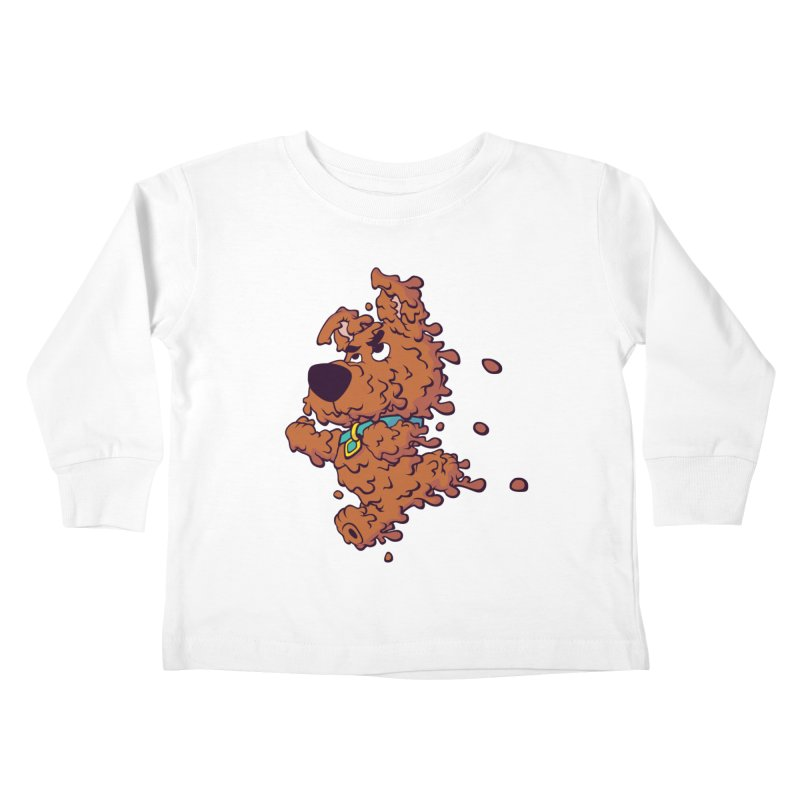 Drippy-Doo Kids Toddler Longsleeve T-Shirt by jeffboarts's Artist Shop
