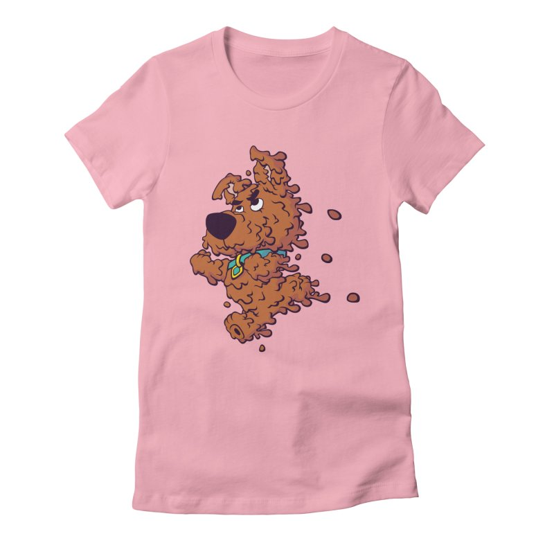 Drippy-Doo Women's Fitted T-Shirt by jeffboarts's Artist Shop
