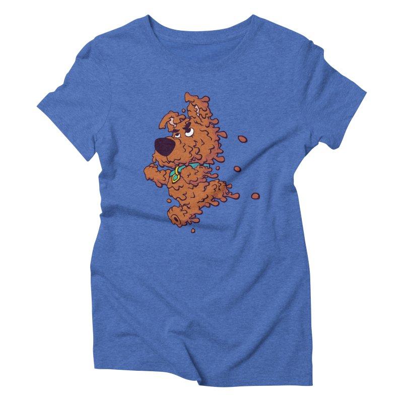 Drippy-Doo Women's Triblend T-Shirt by jeffboarts's Artist Shop