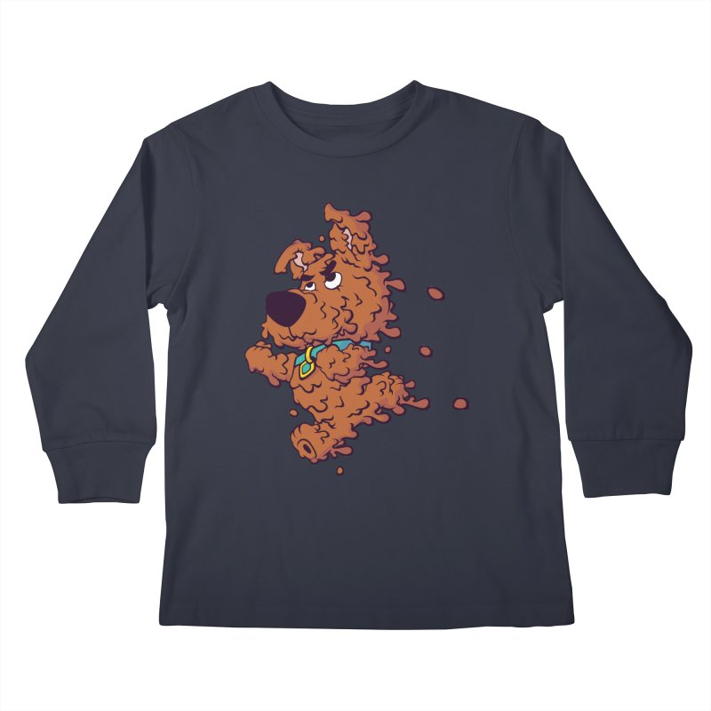 Drippy-Doo Kids Longsleeve T-Shirt by jeffboarts's Artist Shop