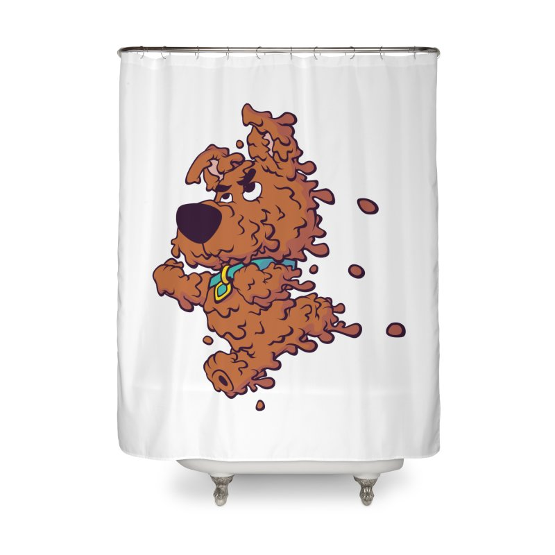 Drippy-Doo Home Shower Curtain by jeffboarts's Artist Shop