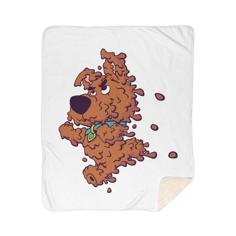 Drippy-Doo Home Sherpa Blanket Blanket by jeffboarts's Artist Shop