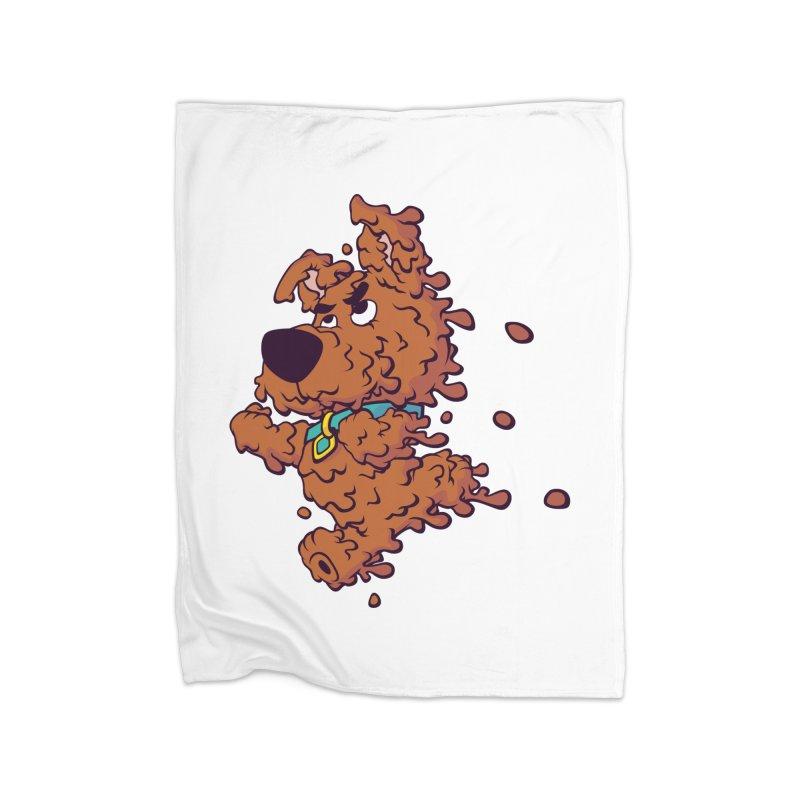 Drippy-Doo Home Blanket by jeffboarts's Artist Shop