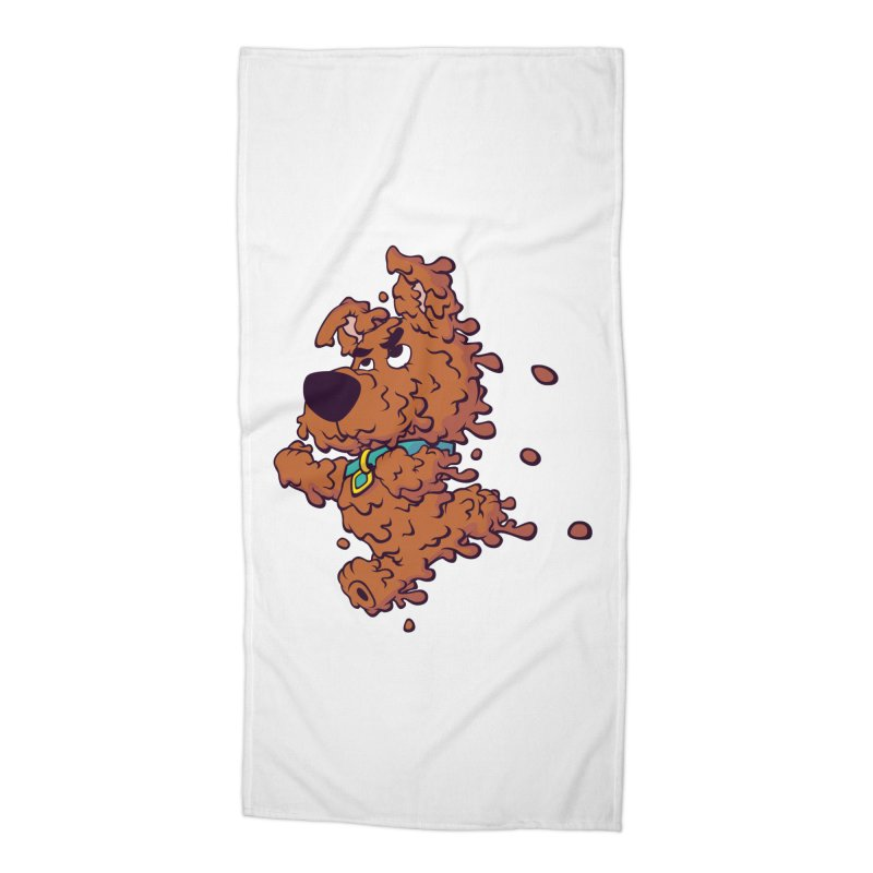 Drippy-Doo Accessories Beach Towel by jeffboarts's Artist Shop