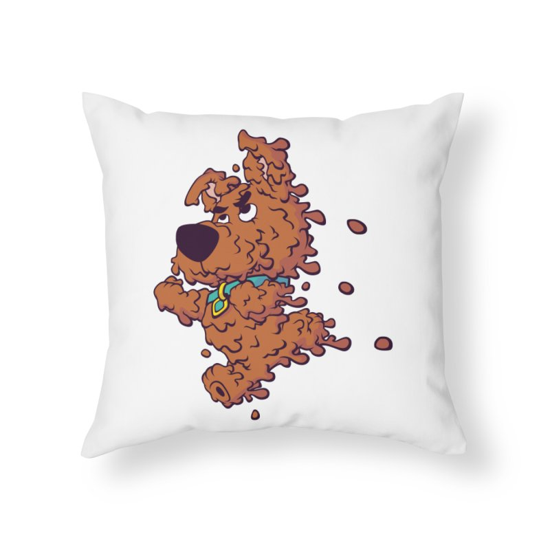 Drippy-Doo Home Throw Pillow by jeffboarts's Artist Shop