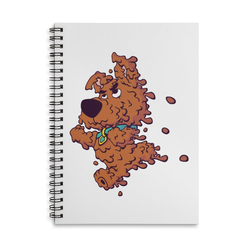 Drippy-Doo Accessories Lined Spiral Notebook by jeffboarts's Artist Shop