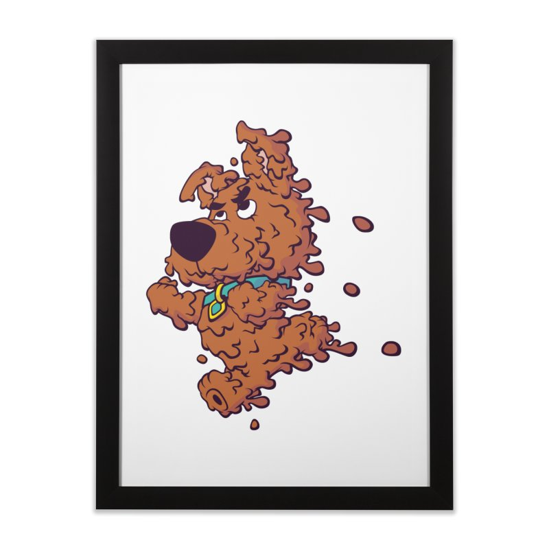 Drippy-Doo Home Framed Fine Art Print by jeffboarts's Artist Shop