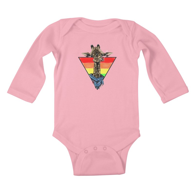 Toby Kids Baby Longsleeve Bodysuit by jeffcarpenter's Artist Shop