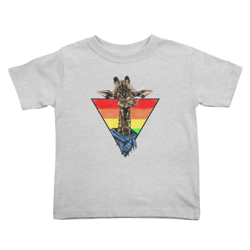 Toby Kids Toddler T-Shirt by jeffcarpenter's Artist Shop