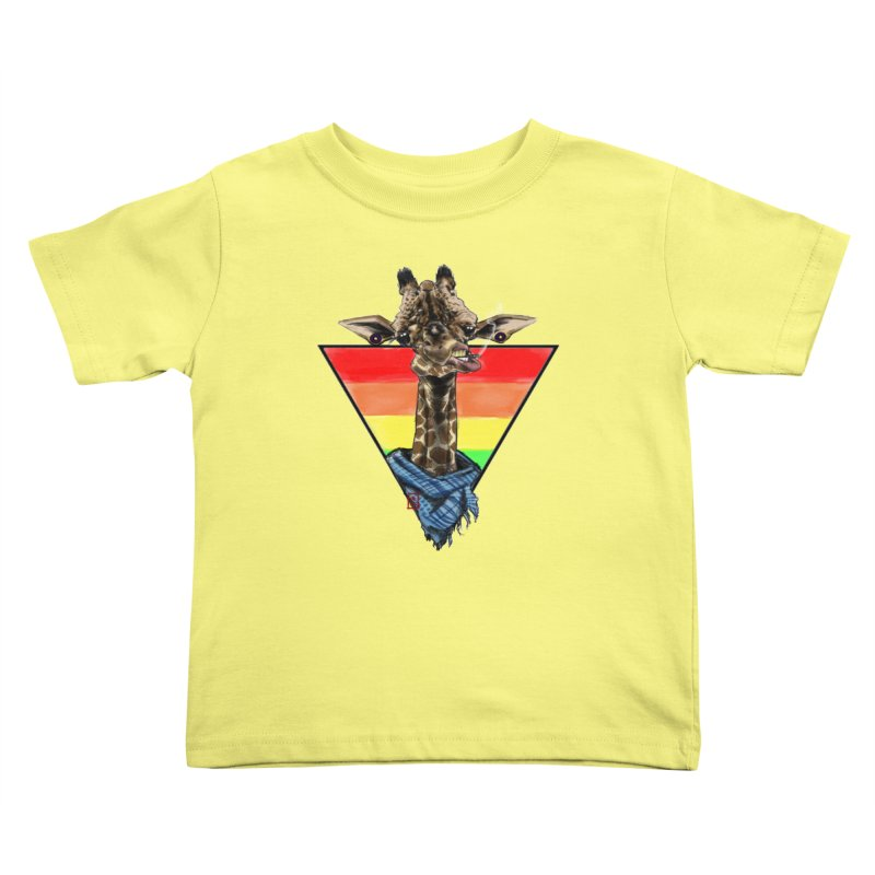 Toby Kids Toddler T-Shirt by jeffcarpenter's Artist Shop