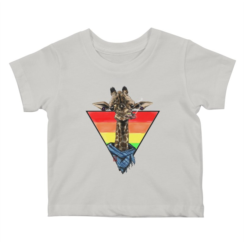 Toby Kids Baby T-Shirt by jeffcarpenter's Artist Shop