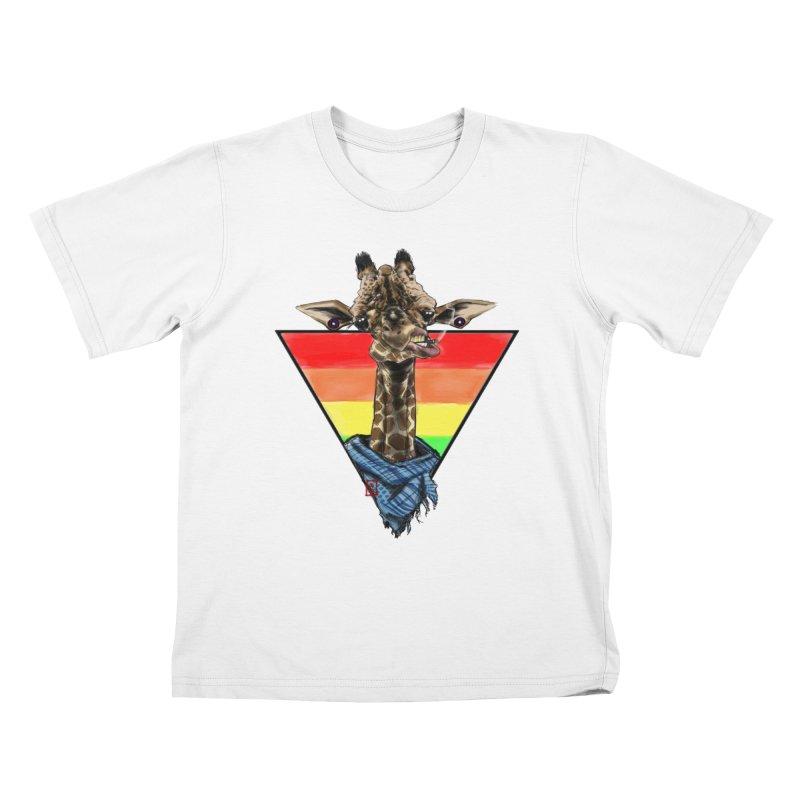 Toby Kids T-shirt by jeffcarpenter's Artist Shop