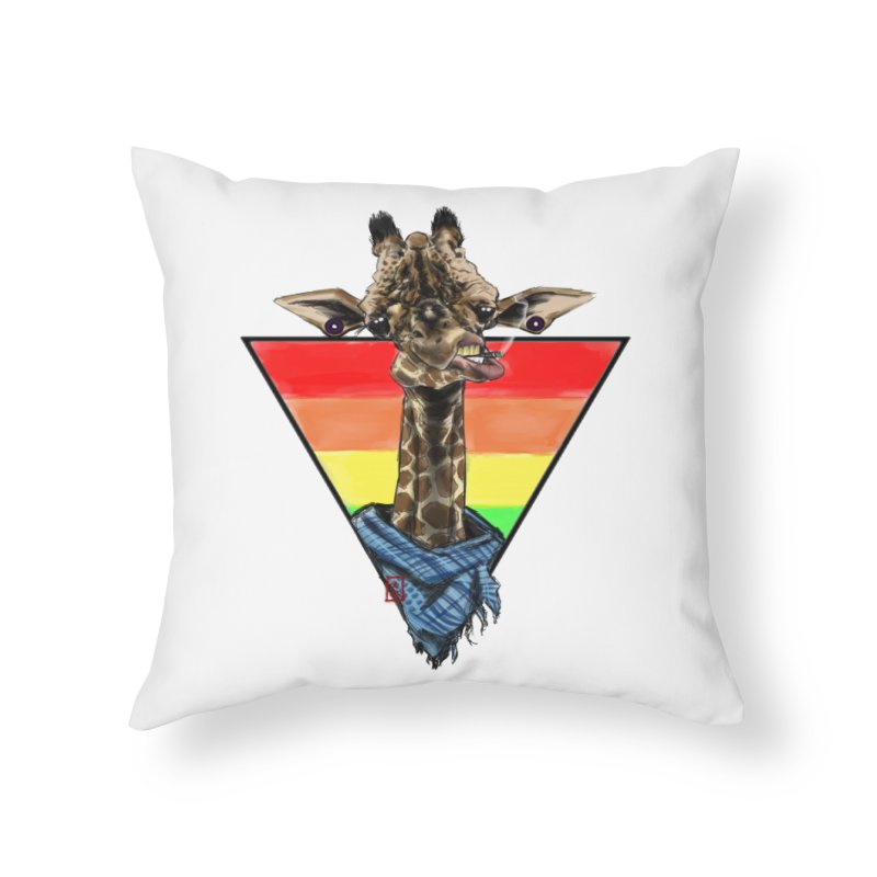 Toby Home Throw Pillow by jeffcarpenter's Artist Shop