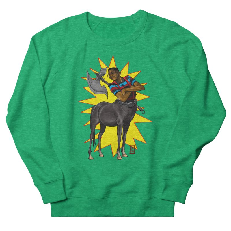 Warrior Scholar Men's Sweatshirt by jeffcarpenter's Artist Shop