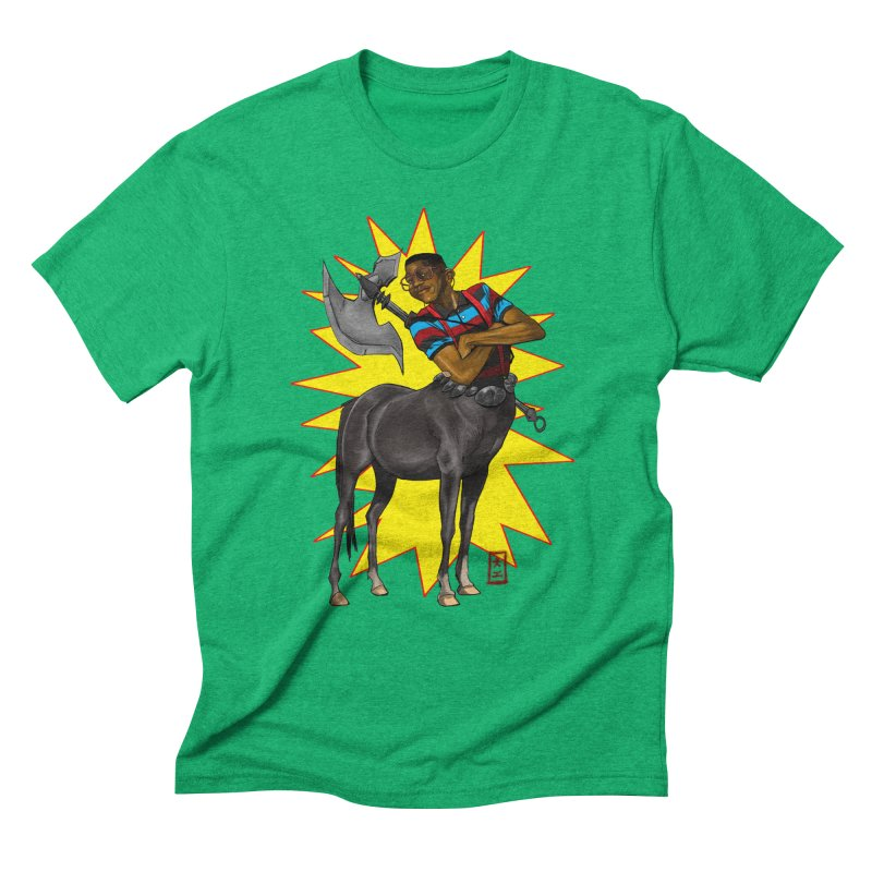Warrior Scholar Men's Triblend T-shirt by jeffcarpenter's Artist Shop