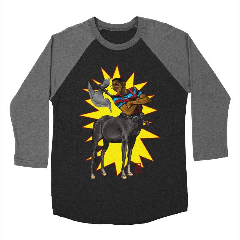 Warrior Scholar Men's Baseball Triblend T-Shirt by jeffcarpenter's Artist Shop