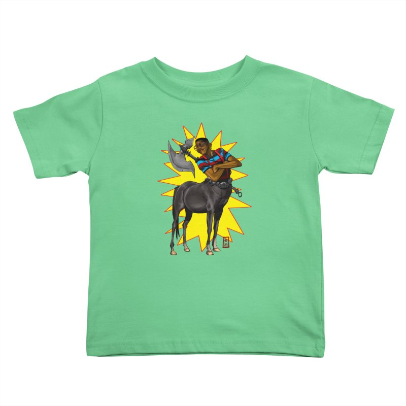 Warrior Scholar Kids Toddler T-Shirt by jeffcarpenter's Artist Shop