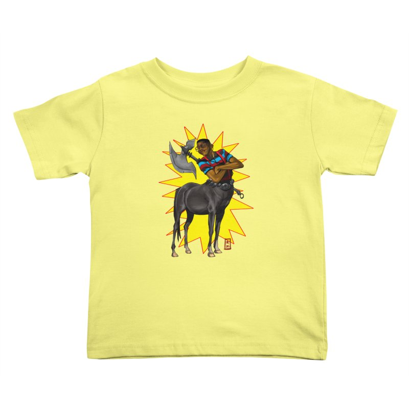 Warrior Scholar Kids Toddler T-Shirt by jeffcarpenter's Artist Shop