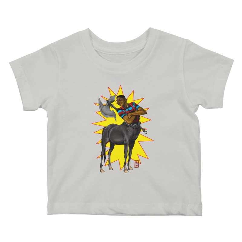 Warrior Scholar Kids Baby T-Shirt by jeffcarpenter's Artist Shop