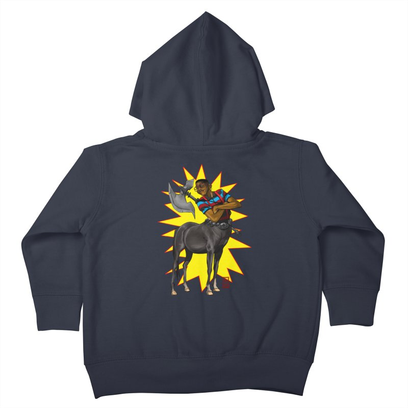 Warrior Scholar Kids Toddler Zip-Up Hoody by jeffcarpenter's Artist Shop
