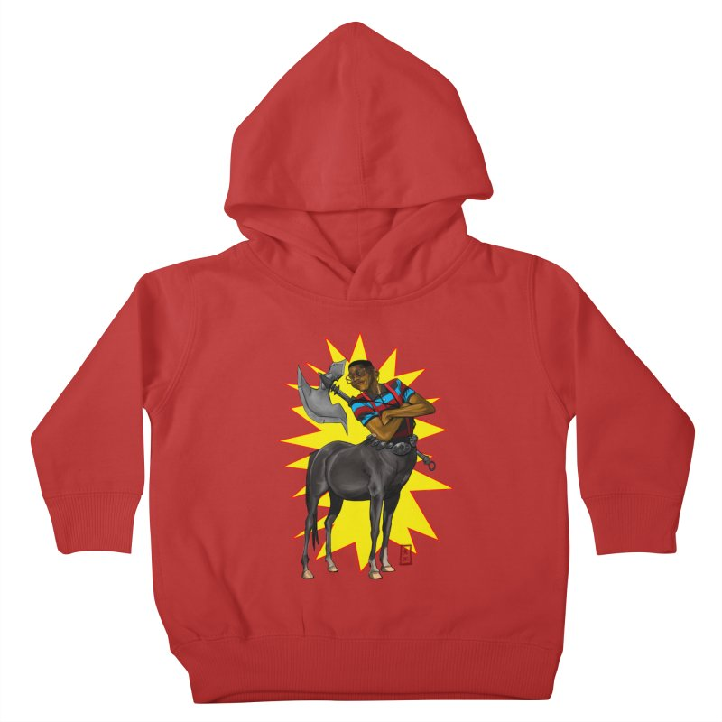 Warrior Scholar Kids Toddler Pullover Hoody by jeffcarpenter's Artist Shop