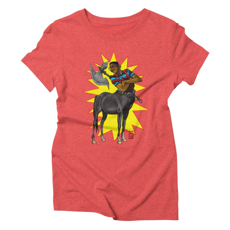 Warrior Scholar Women's Triblend T-Shirt by jeffcarpenter's Artist Shop
