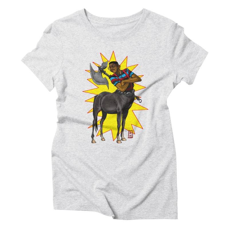 Warrior Scholar Women's Triblend T-shirt by jeffcarpenter's Artist Shop