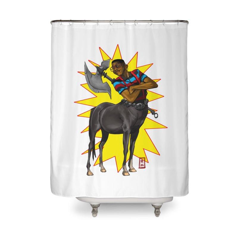 Warrior Scholar Home Shower Curtain by jeffcarpenter's Artist Shop
