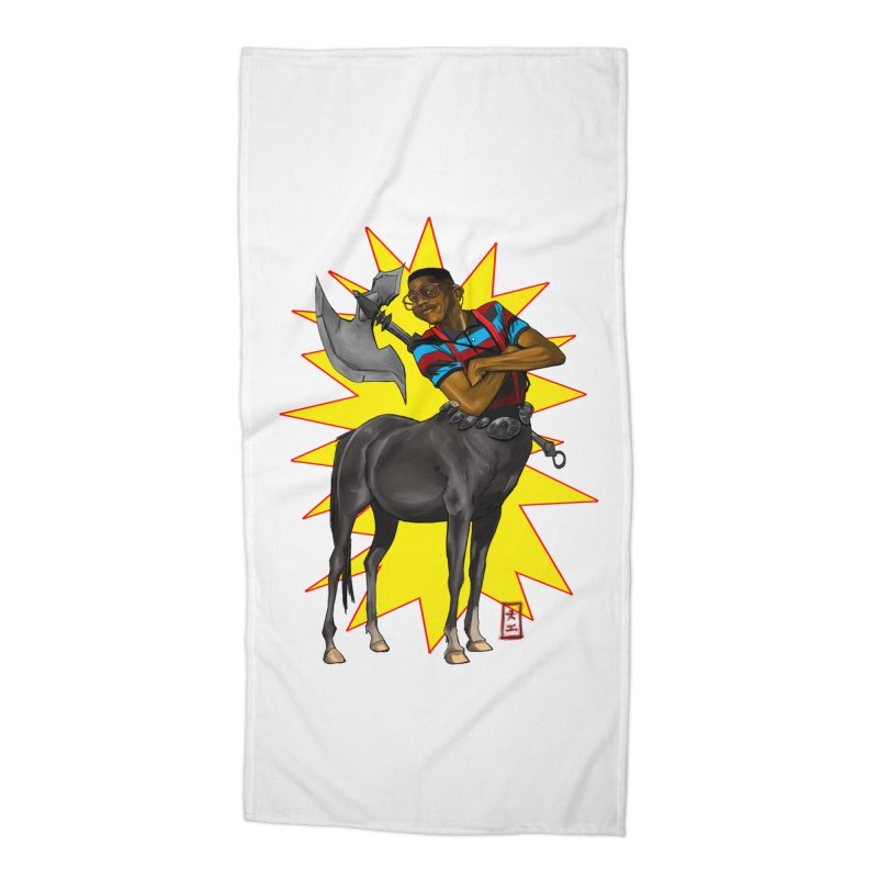 Warrior Scholar Accessories Beach Towel by jeffcarpenter's Artist Shop