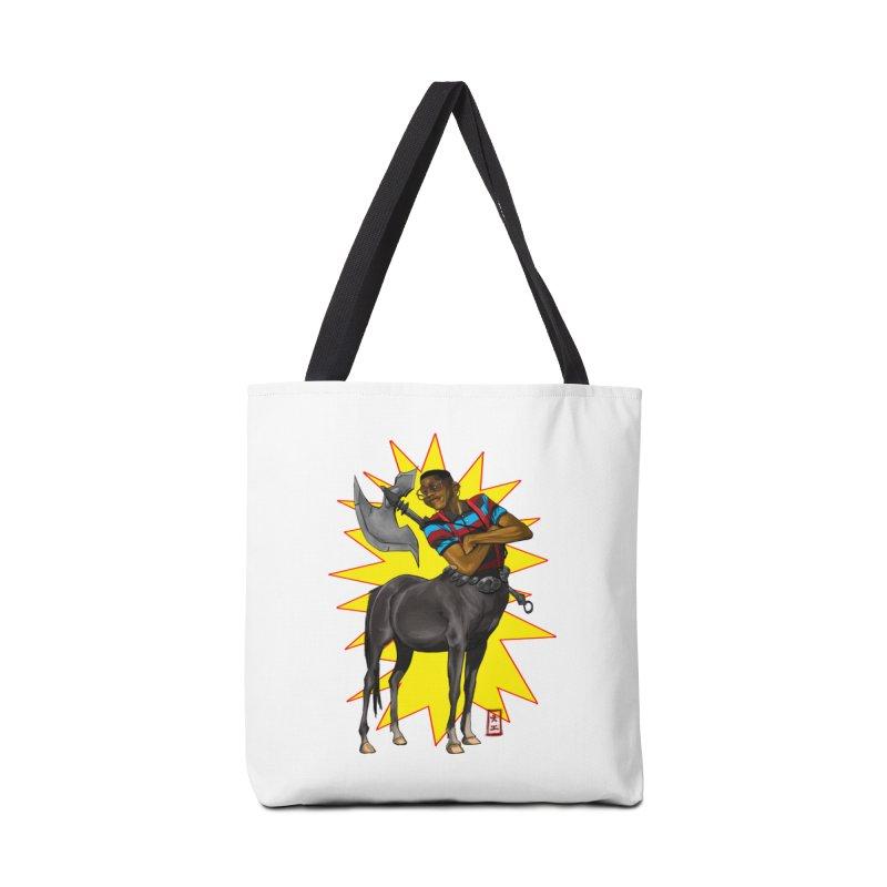 Warrior Scholar Accessories Bag by jeffcarpenter's Artist Shop