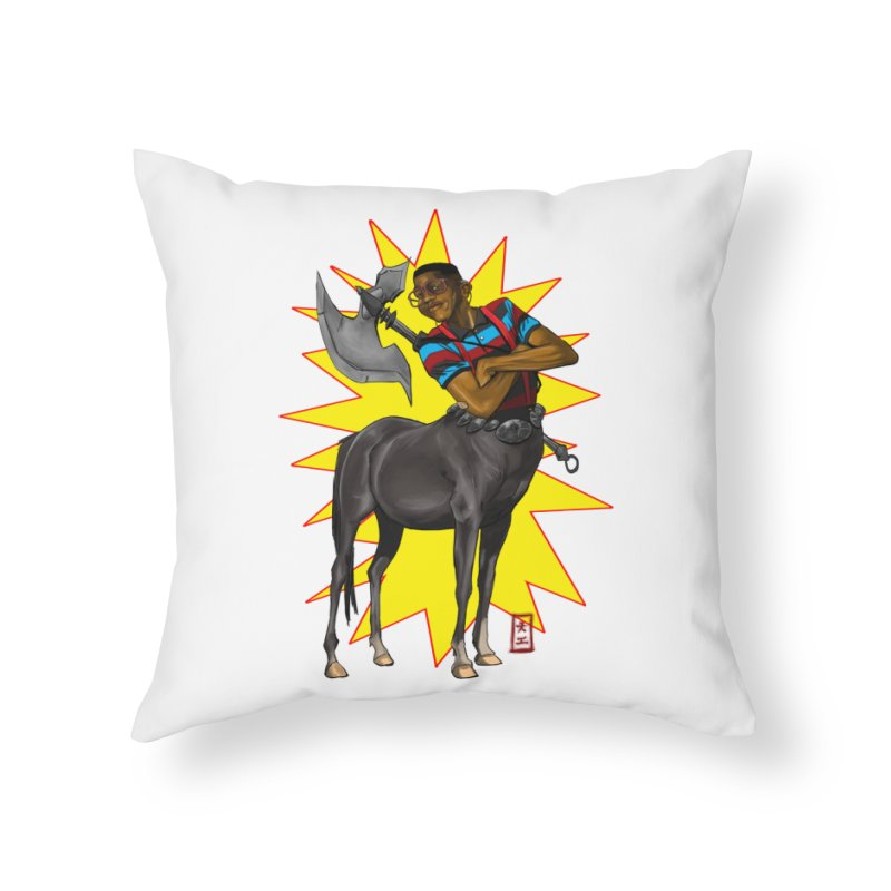 Warrior Scholar Home Throw Pillow by jeffcarpenter's Artist Shop