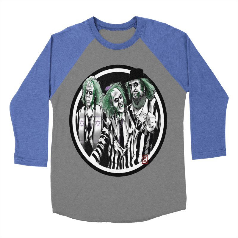 Beetle Jews Men's Baseball Triblend T-Shirt by jeffcarpenter's Artist Shop