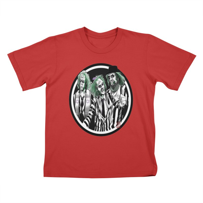 Beetle Jews Kids T-shirt by jeffcarpenter's Artist Shop