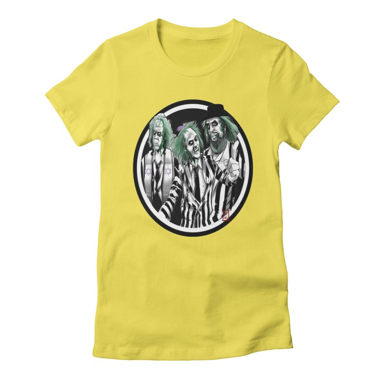Beetle Jews Women's Fitted T-Shirt by jeffcarpenter's Artist Shop