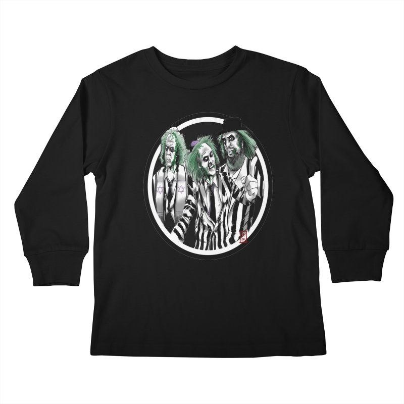 Beetle Jews Kids Longsleeve T-Shirt by jeffcarpenter's Artist Shop